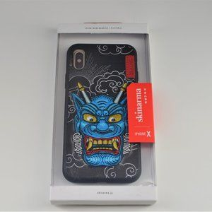 New Skinarma Embroidered Apple IPhone X phone case